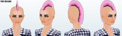 Career - Pink Mohawk