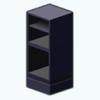Decor - Medium Black Cabinet