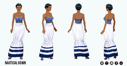 Nautical - Nautical Gown