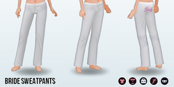 HoneymoonSpreeSpin - Bride Sweatpants