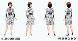 ReturnOfTheWaist - Belted Choker Dress