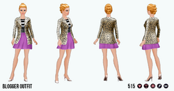 FashionBloggerSpin - Blogger Outfit
