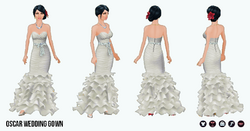 OdeToOscar - Oscar Wedding Gown
