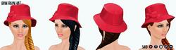 AprilShowers - Bow Rain Hat