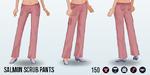NursesWeek - Salmon Scrub Pants
