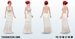 AwardsParty - Thousand Pearl Gown