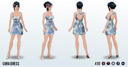GardenPartySpin - Cora Dress
