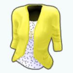 SeparatesSpin - Yellow Blazer