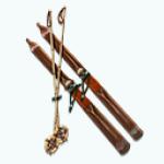 SkiTrip - Vintage Ski Display
