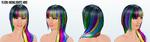 DareDay - Neon Highlights Wig