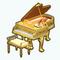 GildedEggDecor - Gilded Piano