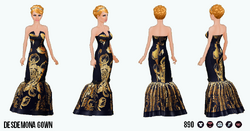 Homecoming - Desdemona Gown