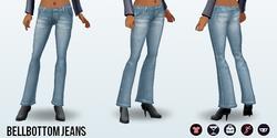 CafeRaffle - Bellbottom Jeans
