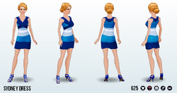 ColorblockSpin - Sydney Dress
