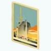 SongOfTheSeaSpin - Vintage Cruise Poster