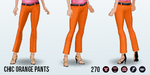 SpringIntoAction - Chic Orange Pants