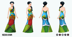 AroundTheWorld - Neema Gown