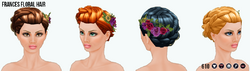 SecretGarden - Frances Floral Hair