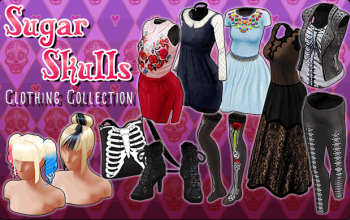BannerCollection - SugarSkulls