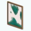 EmeraldAndLilySpin - Abstract Emerald Art