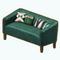 GreenAddictDecor - Green Velvet Couch