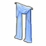 IceCastleDecor - Ice Blue Curtains
