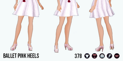 TheVault - Ballet Pink Heels