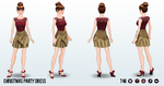 HollyDaysSpin - Christmas Party Dress
