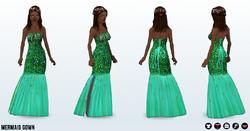 Princess - Mermaid Gown