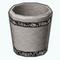 BillionaireBathroomDecor - Crystal Waste Basket
