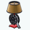 HomeTheaterDecor - Film Reel Lamp