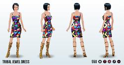 CafeRaffle - Tribal Jewel Dress