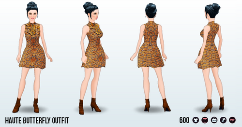 TutusFreakyFashionFestivities - Haute Butterfly Outfit