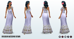 ArabianNights - Arabian Wedding Gown