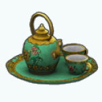ChineseNewYearSpin - Chinese Tea Set
