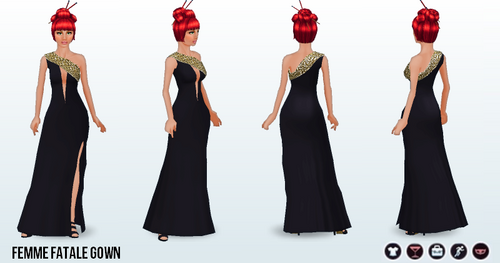 PrivateInvestigations - Femme Fatale Gown