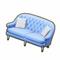 IceCastleDecor - Velvet Sofa