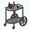 MoulinRougeDecor - Gold Bar Cart