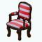 NewEnglandDecor - Nautical Stripe Chair