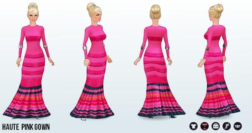 FabulousLasVegas - Haute Pink Gown