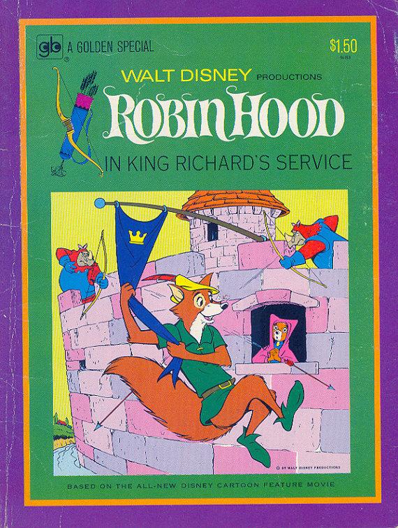 Robin Hood Comic Book