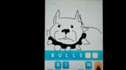 "EPIC ""Draw Something"" FAIL (Friend attempts to guess my PITBULL drawing and fails miserably.)"