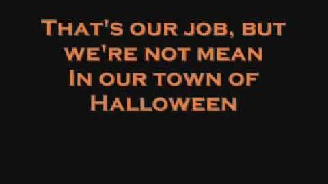 The Nightmare Before Christmas- This Is Halloween (lyrics)