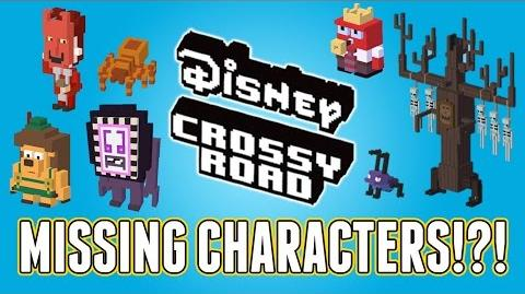 Disney Crossy Road Missing Characters!? Full List Of Retired Characters!