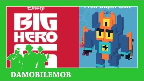 ★ DISNEY CROSSY ROAD Secret Characters - FRED SUPER SUIT Unlock (BIG HERO SIX) (iOS, Android)