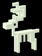 Skeletal Reindeer