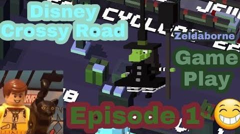 Disney Crossy Road Episode 1 Zeldaborne Gameplay