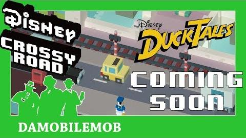 ★DISNEY CROSSY ROAD Ducktales Update World Mockups Me Singing the Intro!=D (Ducktales Update)