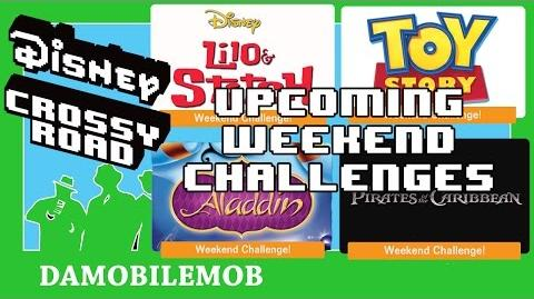 ★ DCR UPCOMING WEEKEND CHALLENGES Previews (LILO AND STITCH Update)