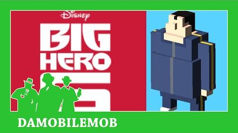 ★ DISNEY CROSSY ROAD Secret Characters - YAMA UNLOCK (BIG HERO SIX)